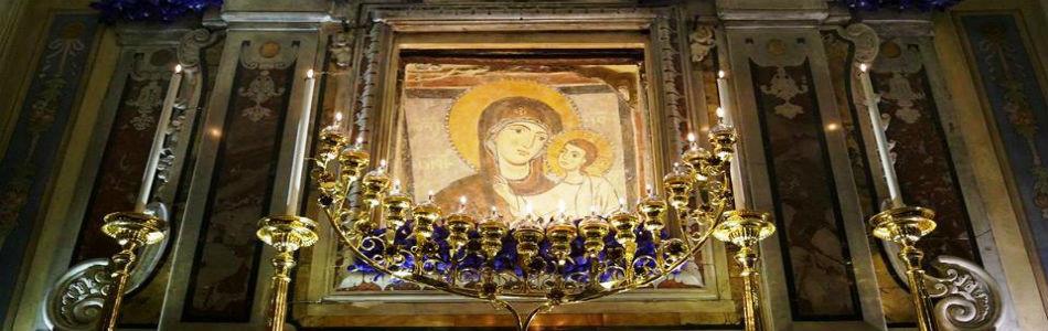 Altare Maggiore Cipta - part. Icona
